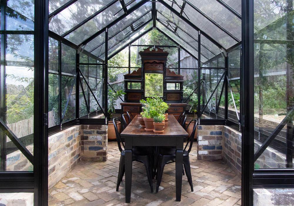 Victorian glasshouse design