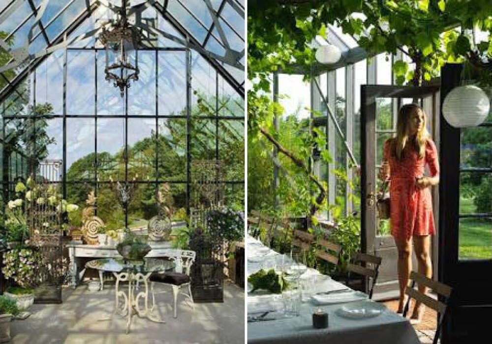 Victorian glasshouse design inspiration