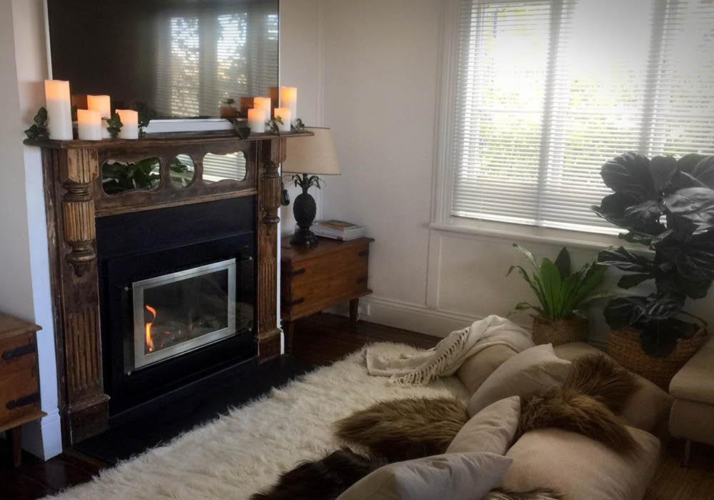 Airbnb living room design