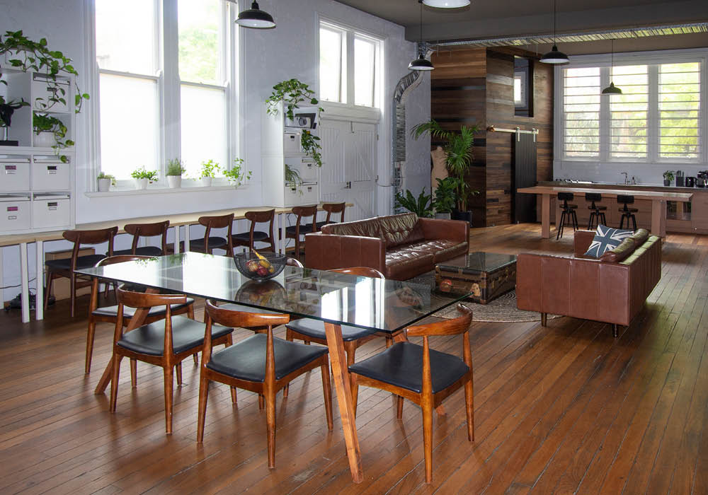 warehouse interior styling