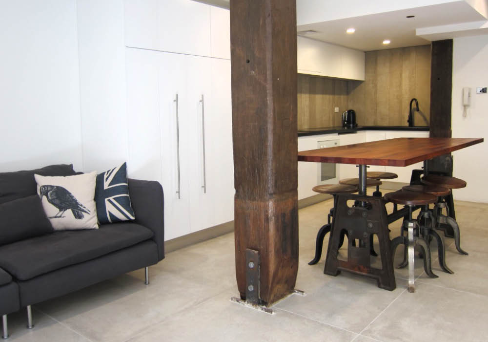 Airbnb warehouse renovation
