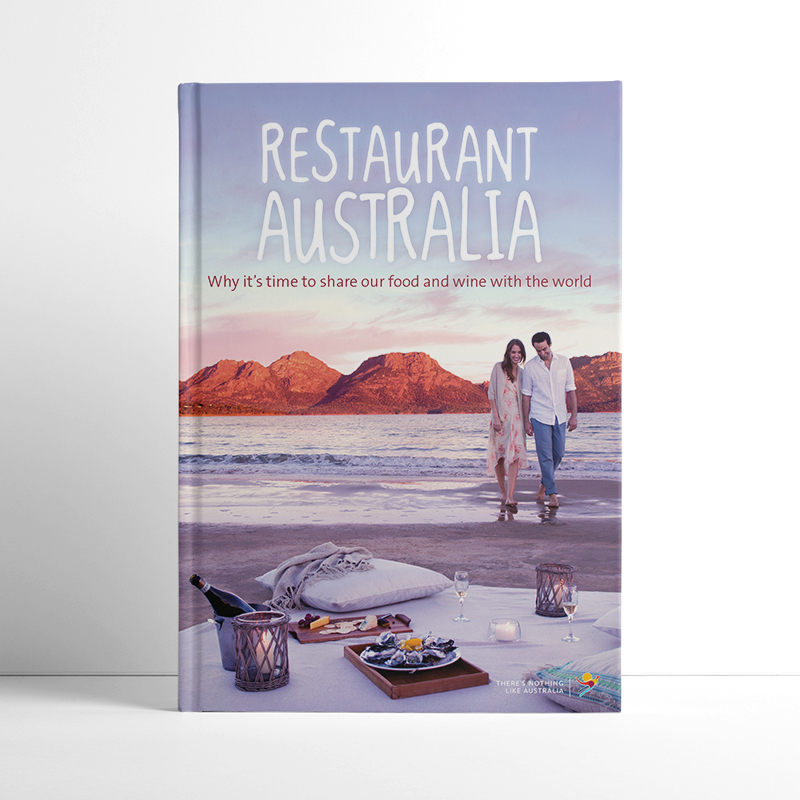 Tourism Australia book design