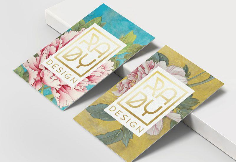 Interior design brand identity