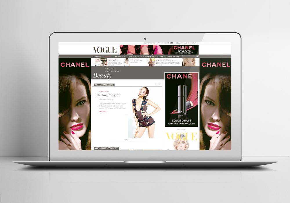 Website digital advertising design