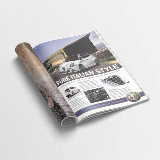 Alfa Romeo Advertisement