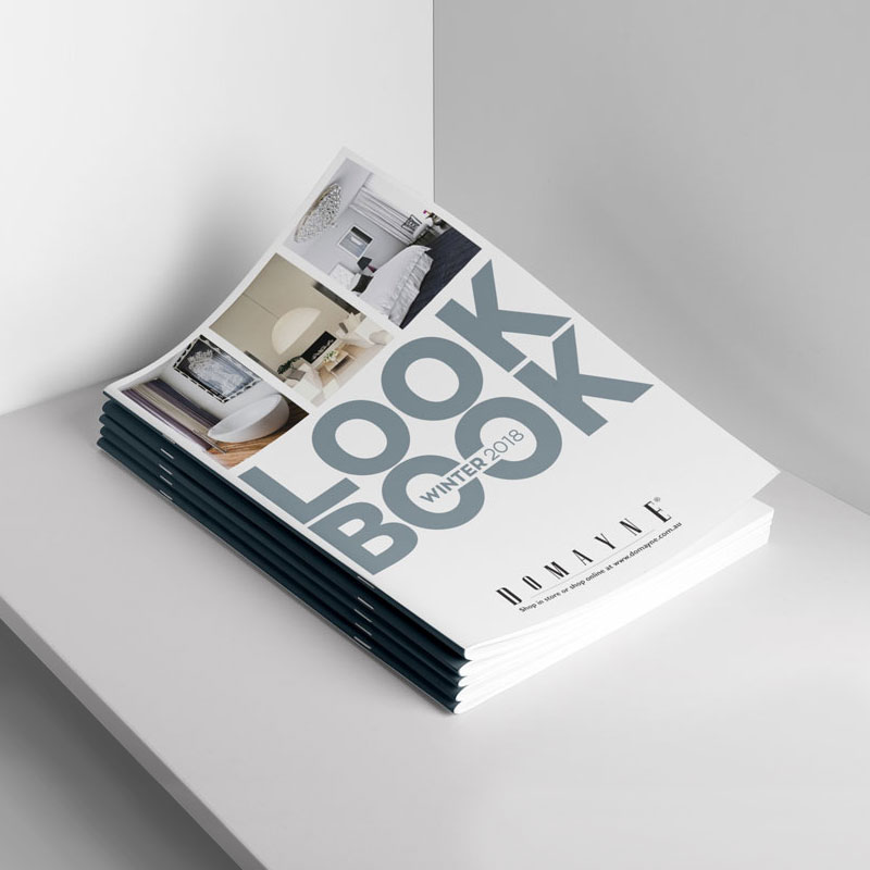 furniture lookbook design