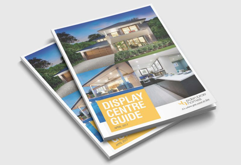 Display home brochure design