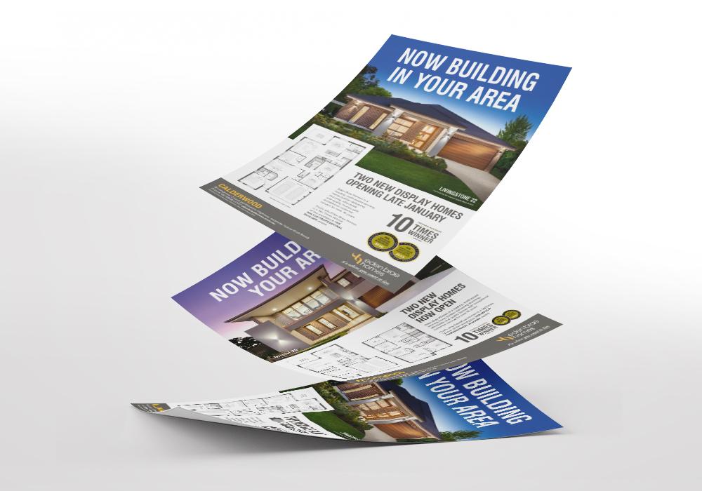 display home advertisement