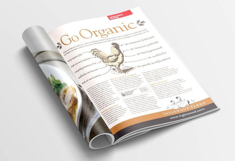 Food Print Advertising