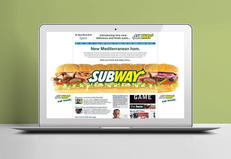digital takeover advertising
