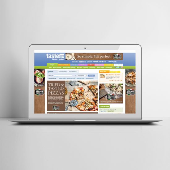 Online advertising design