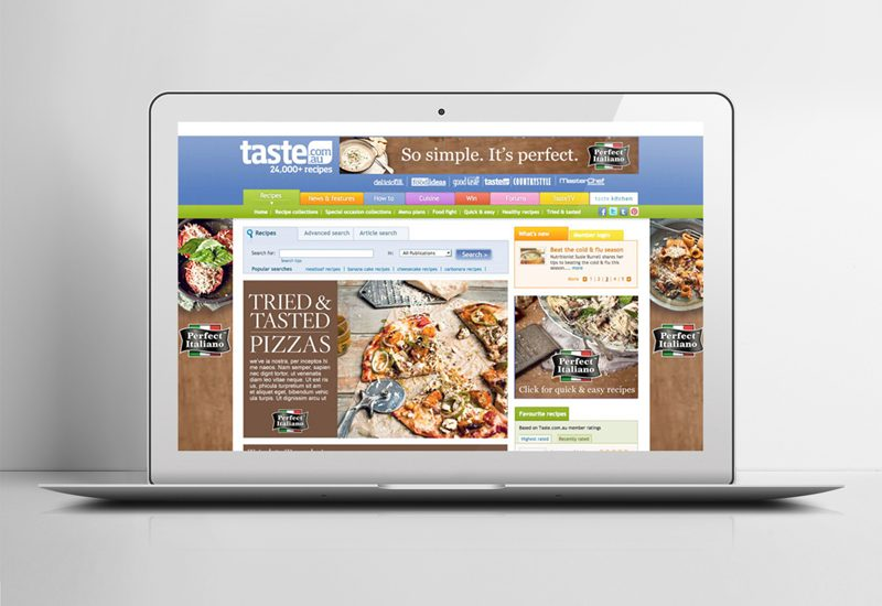 Online advertising design