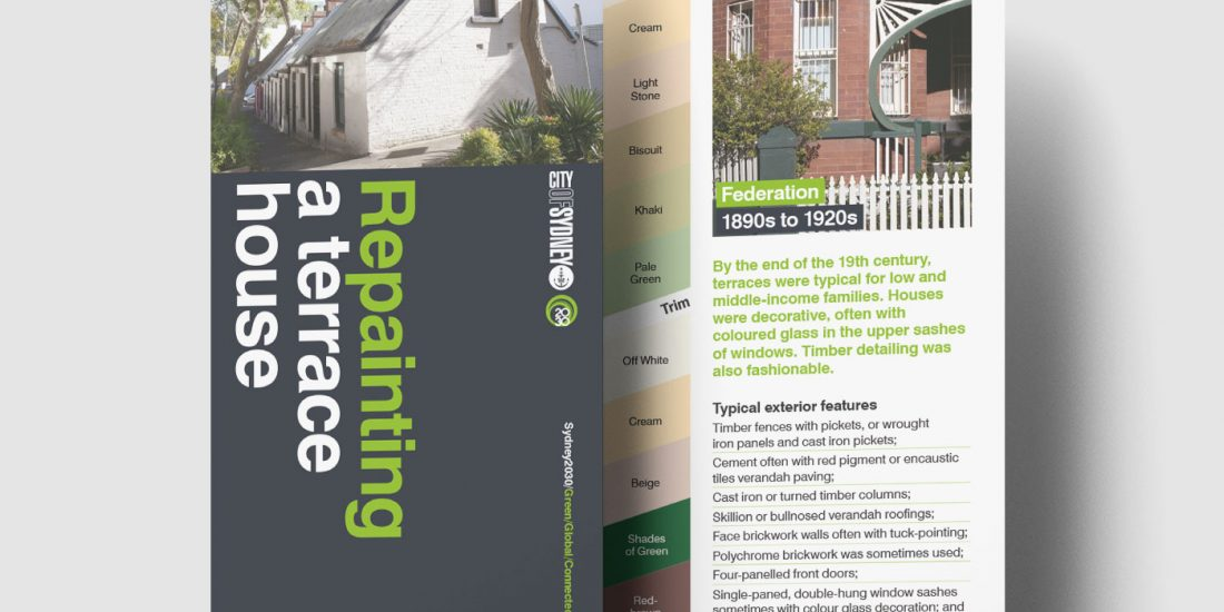 Council heritage guide design