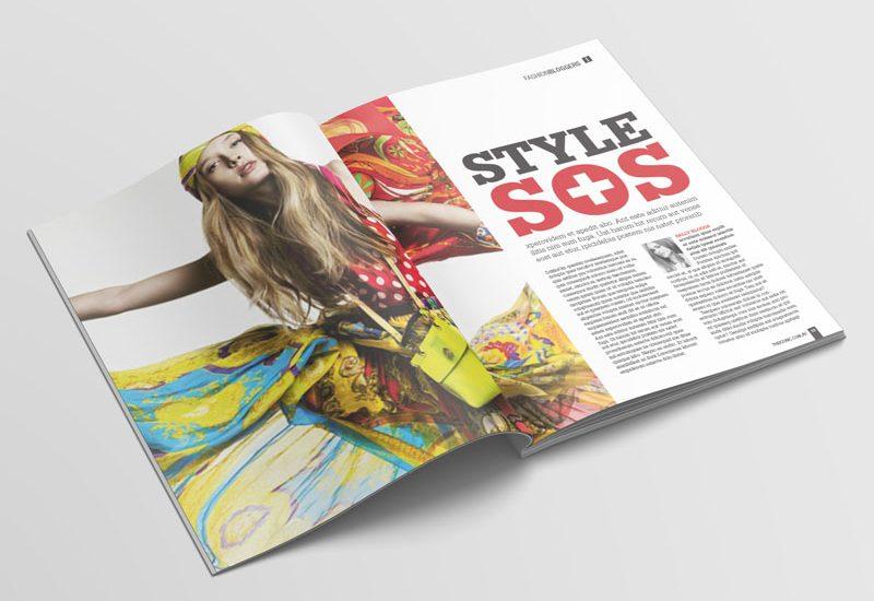 Magazine concept and design
